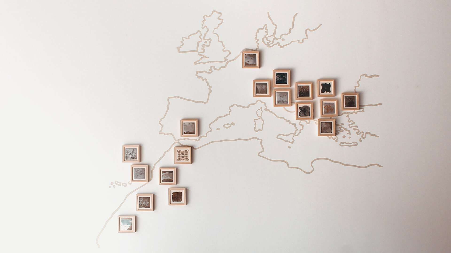 Gjajic Arhiva sjecanja matrica na karti